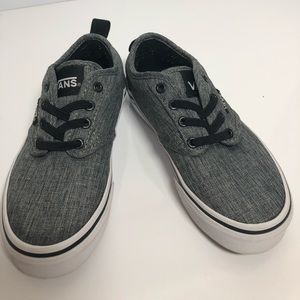 Kids youth Atwood Vans grey/black/white.